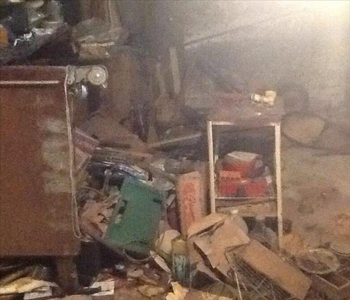 Home Fire Ravages Through the Basement