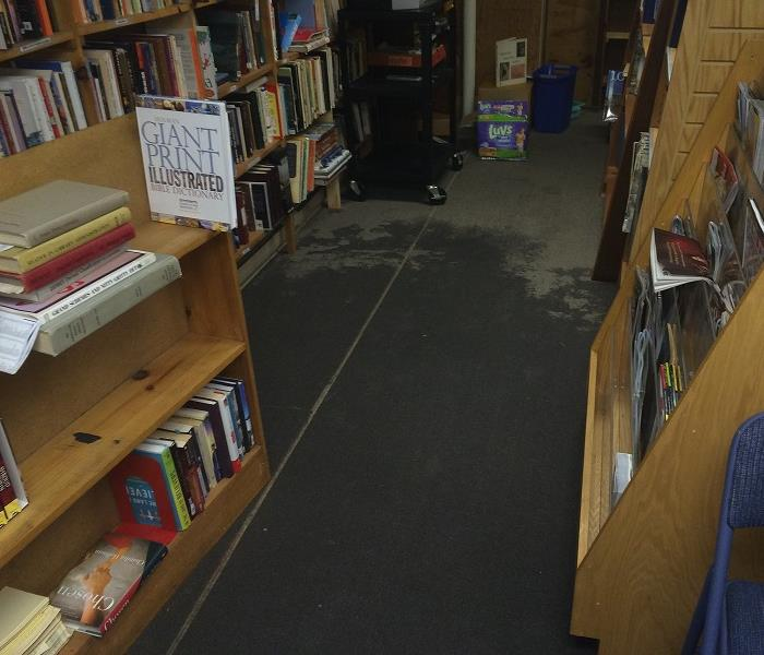 Flooded Library Gets Cleaned!