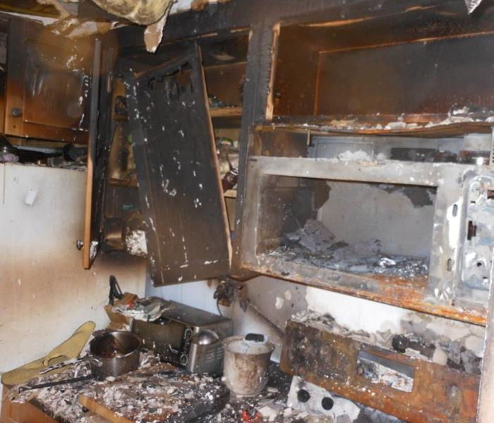 Terrible Fire Ravages Kitchen