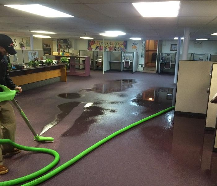 "SERVPRO Makes Flooded Classroom, ""Like it never even happened"""
