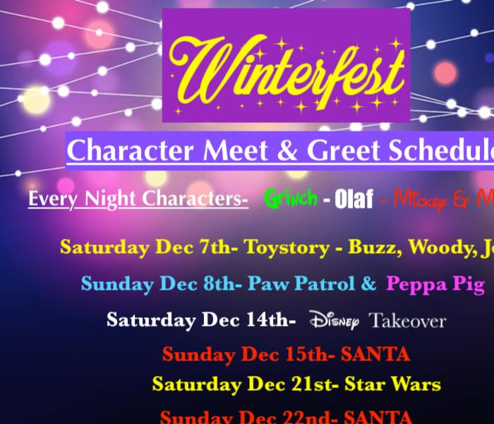 Winterfest dates and themes
